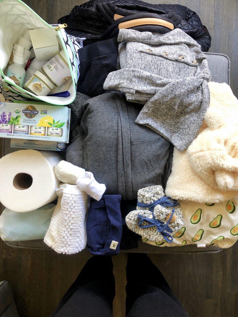 Hospital Bag Checklist: What I am Bringing for Me + Baby