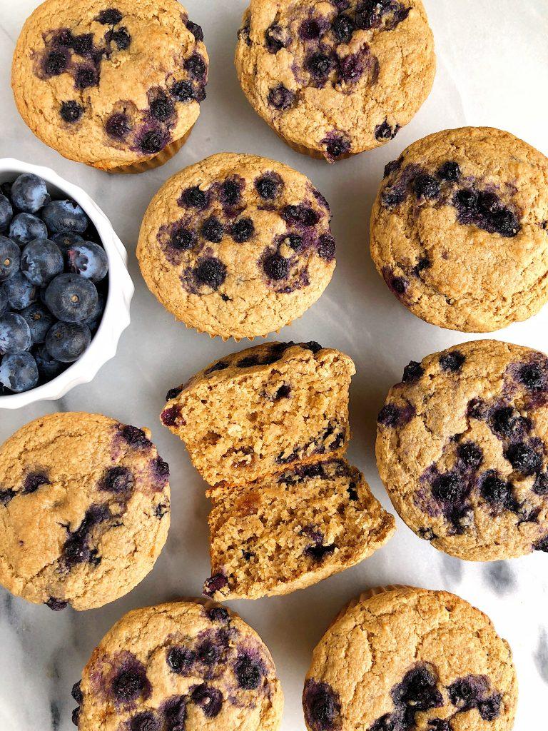 Gluten Free Blueberry Muffins Egg Free Nut Free