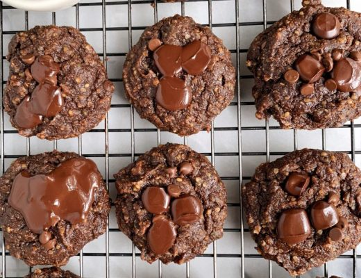 Paleo Pumpkin Chocolate Fudge Cookies