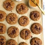 The Easiest Chocolate Chunk Oatmeal Cookies (gluten-free, egg-free)