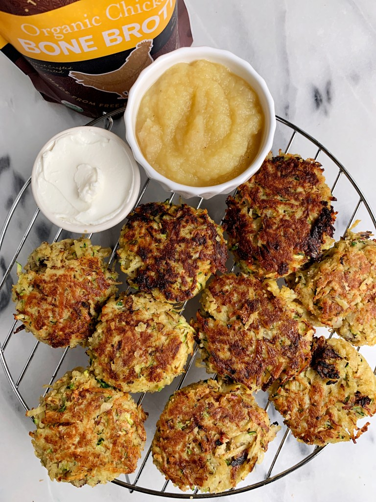 easy and healthy potato zucchini latkes
