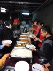 Makan Malam Pertama ! Spekta ! blur , yang moto lapar #newmontbootcamp