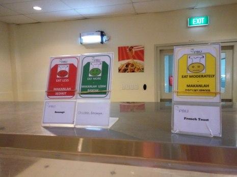 Papan-papan anjuran makan yang baik ! #newmontbootcamp
