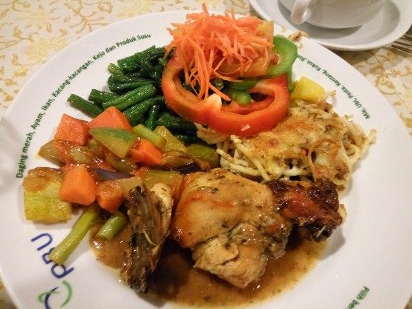 Makan Malam ala Londho. udah sehat belum yah ? #newmontbootcamp