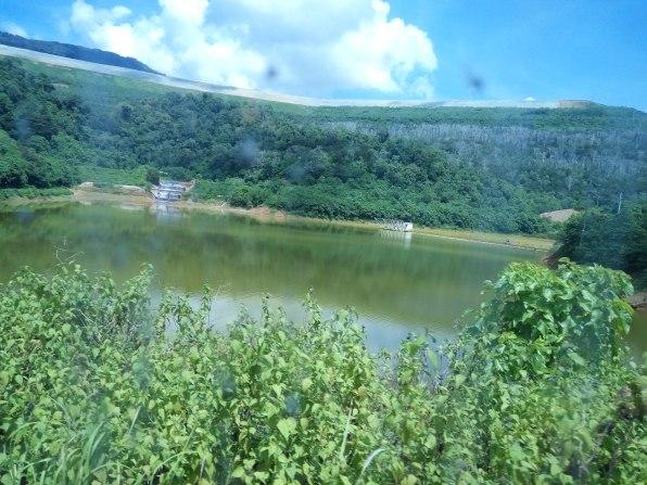 ini adalah tempat penampungan Air Terdampak Tambang. dipisahkan supaya tidak tercampur dengan air alami #newmontbootcamp