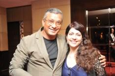 With ad guru & musician Subhash Kamath