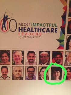 Most Impactful Global Health Leader Award