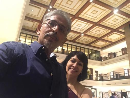 Rachna Chhachhi with Sanjiv Sharma