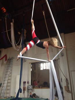 sam learning silks for performance