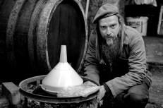 Račiansky vinár Juraj Krajčírovič. FOTO: Marcel Rebro