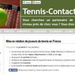 Tennis-Contact