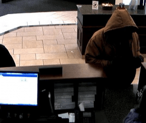 Community State Bank Robbery Suspect1