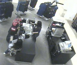 Theft suspects/Caledonia Police Department1