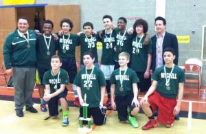 Mitchell Middle School Boys Basketball