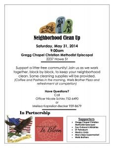 Mead Street Cleanup May31