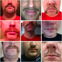 Members of the Caledonia Fire Department decided to grow their mustaches for No Shave Movember, a foundation that hopes to bring awareness to men's health issues.