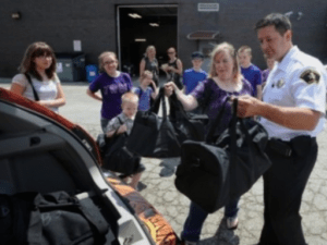 Duffels for kids RCSD