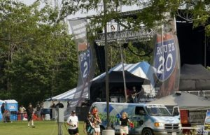 The Route 20 Outhouse state rocked the first day of Kraut Fest.