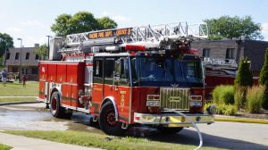 Fireworks cause house fire