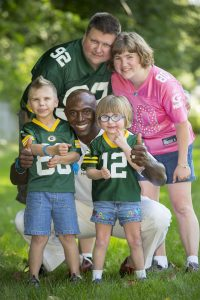 Szymczak Family Donald Driver Green Bay Packers Healthy Living