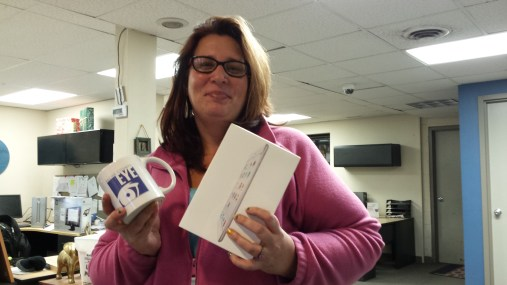 Sherria Bidet Wine won our drawing for an IPad Mini 2.
