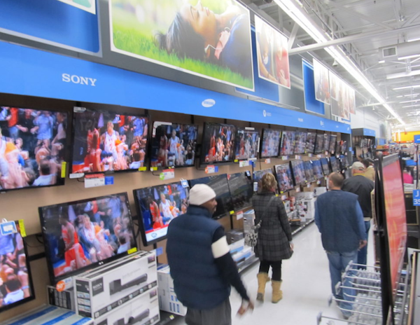 Shoppers out looking for deals on Black Friday