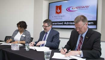 Gateway Technical, Carthage Colleges Pen Transfer Agreement