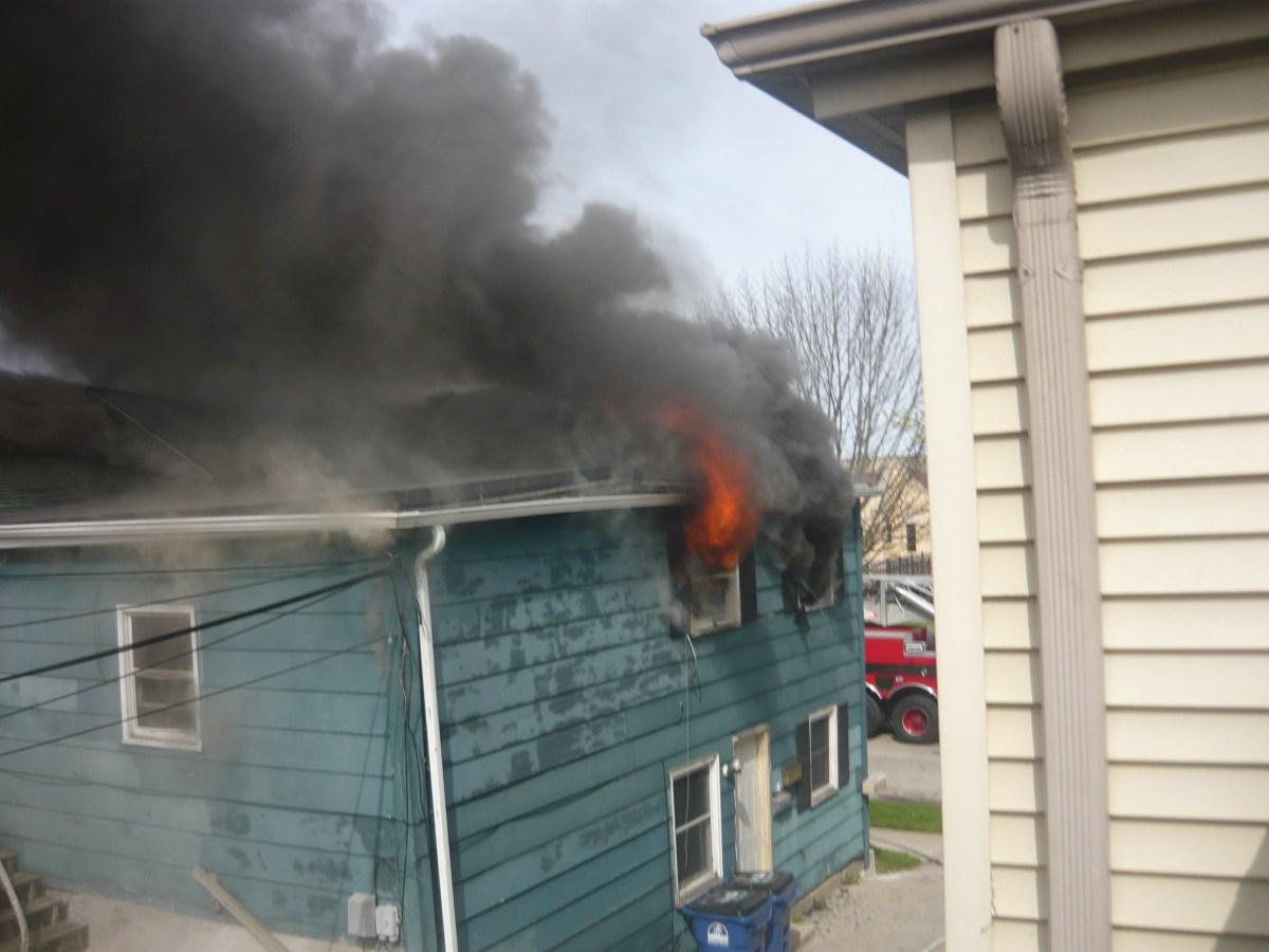 Fire at 1310 Michigan Boulevard