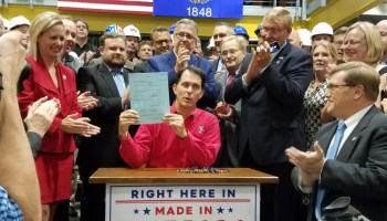 Foxconn bill signed
