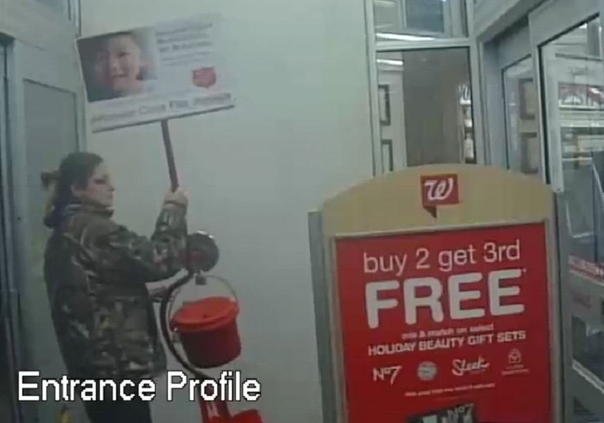 Walgreens red kettle suspect