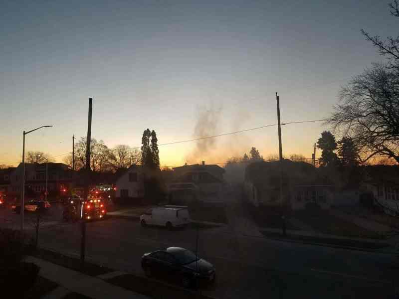 Fire on Gilson Street