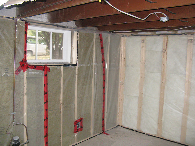 Waterproofing basements
