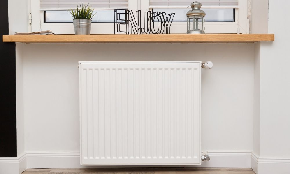 How to Dress Up Your Baseboard Radiator Space