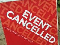 canceled events and closures list, Racine County, Racine, Wisconsin