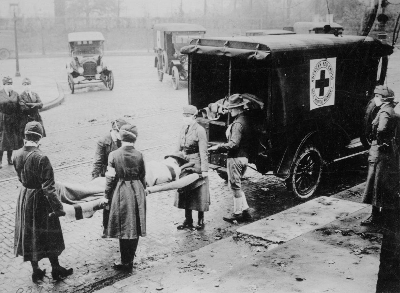 1918 Flu, Red Cross, Wisconsin, Coronavirus