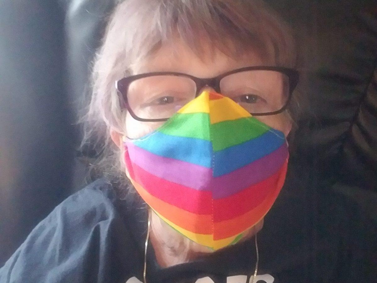 Pride mask