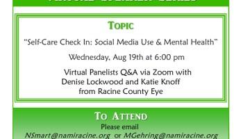 NAMI Virtual Speaker Series Social Media mental health
