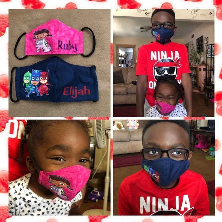 Ruby & Elijah's mask entry