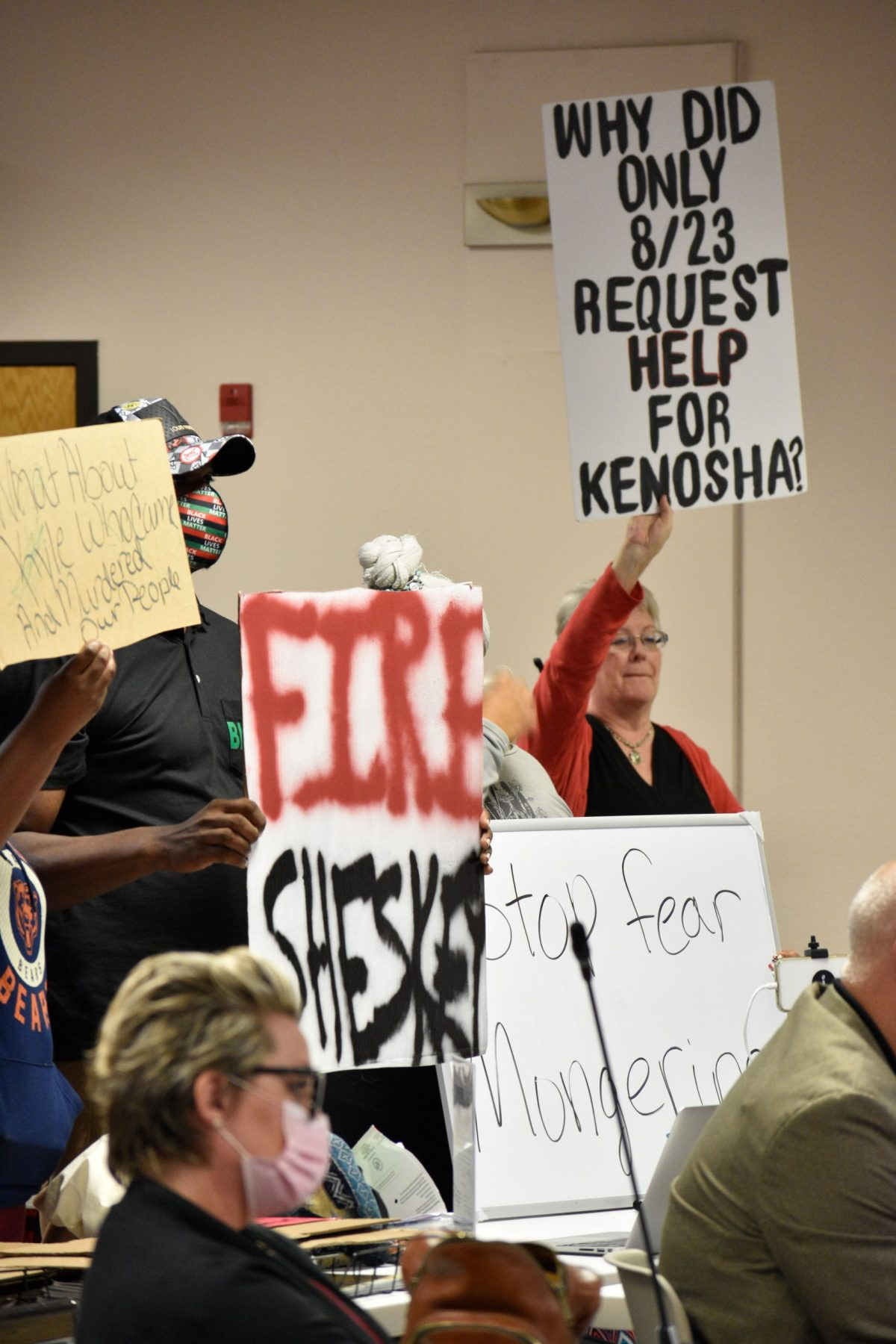 county board; tension