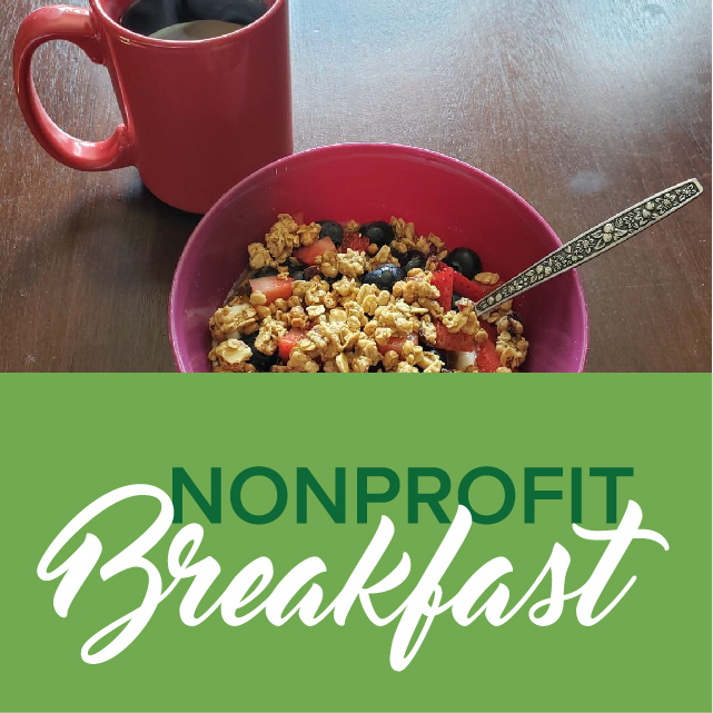 Nonprofit breakfast