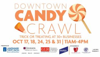 candy crawl downtown racine trick or treat 2020