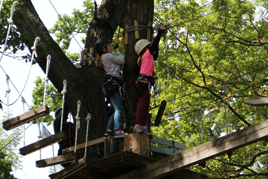 boundless adventure park ropes course