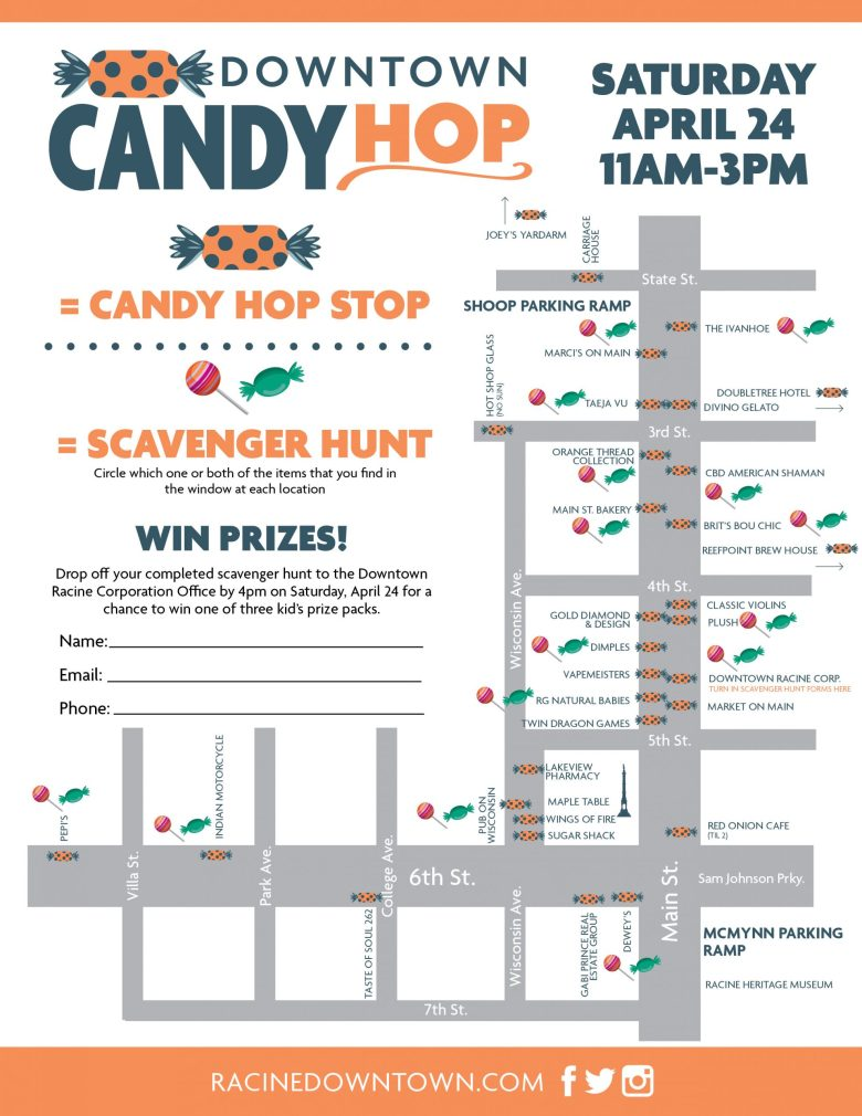Downtown Candy Hop