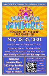 Memorial Day Weekend Event Burlington Jamboree