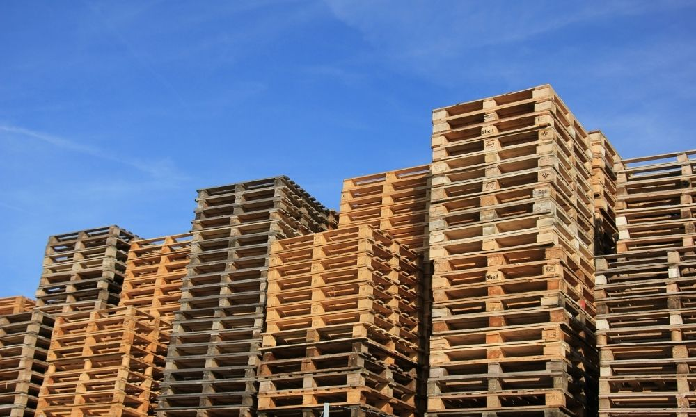 How To Clean and Treat Wooden Pallets
