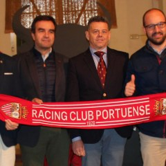"""Jesús Sánchez: """"El Racing nunca tira la toalla como ha demostrado durante estos 90 años"""""""
