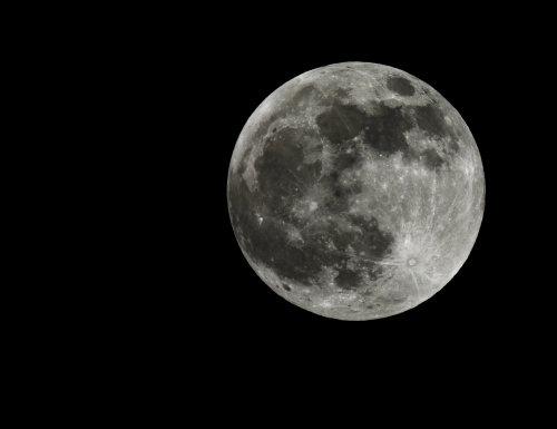 Full moon in Malibu.