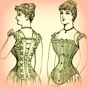 victorian era spanx is her corset too tight