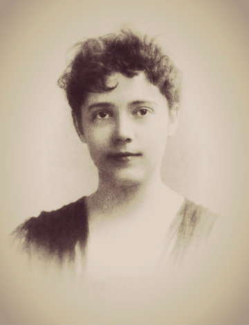 Portrait of Elizabeth Bisland, 1891.