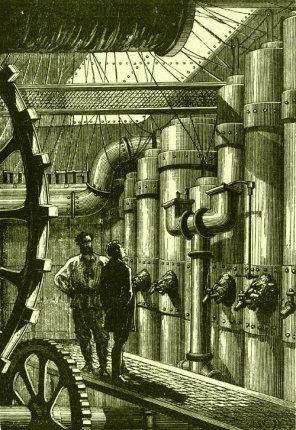 Engine Room of the Nautilus